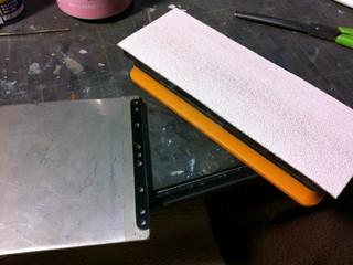 簡単スラストプレート製作